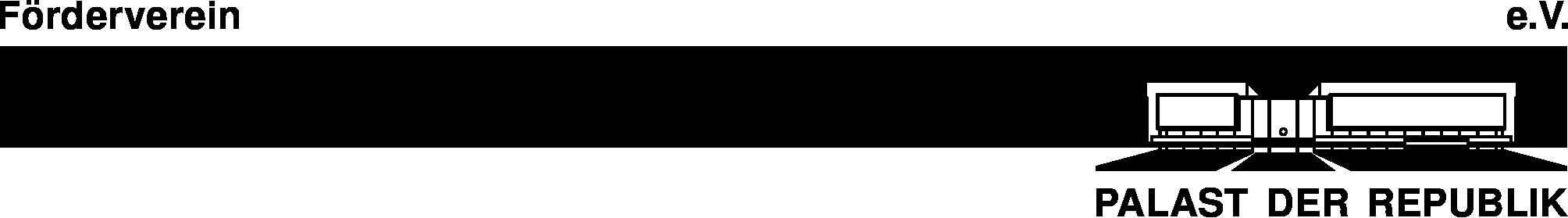 Briefkopf Förderverein Palast der Republik e.V.