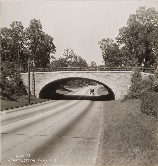 Low overpass bridges on Long Island Parkways. Source: *Ethics in architecture: Introducing concepts of power and empowerment* by Alexandra Staub.